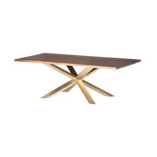 Orren Ellis Boler Metal Base Dining Table