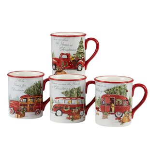 esther 4 piece coffee mug set