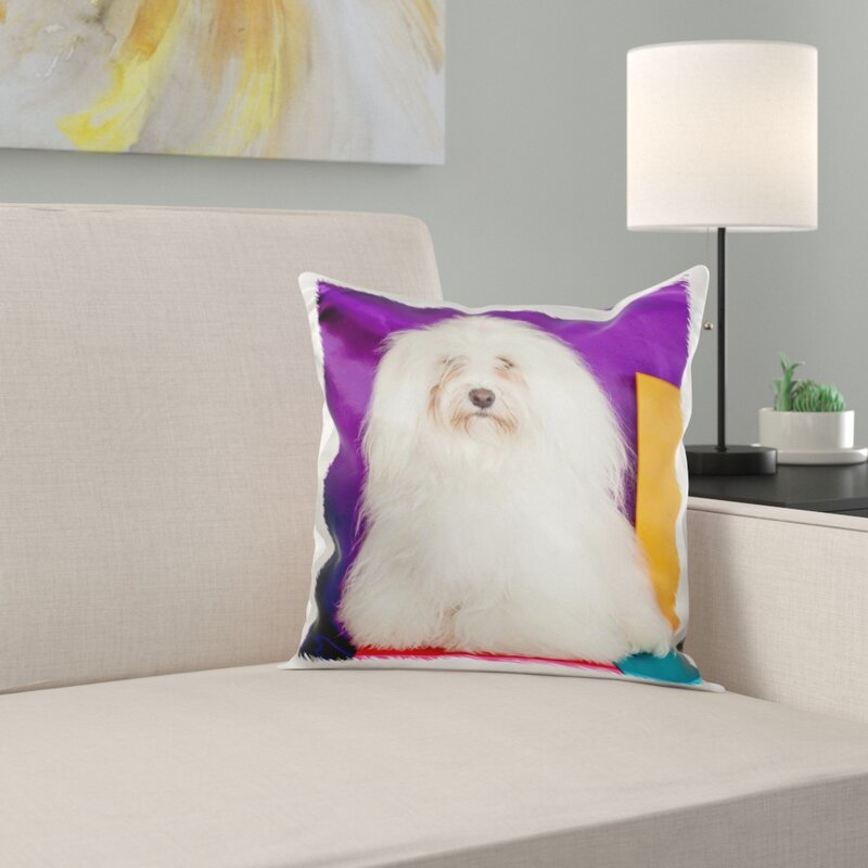A Havanese Dog Pillow Cover
