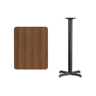 Affordable Price Maysonet Rectangular Laminate Pub Table by Winston Porter