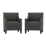 Elvin Arm Chair (Set of 2) by Everly Quinn