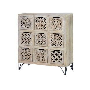 Sabina 9 Drawer Chest By World Menagerie