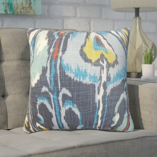 Wingfield Ikat Cotton Throw Pillow (Set of 2)