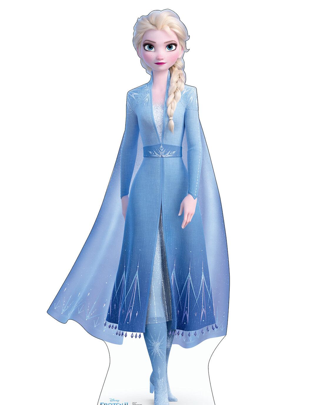 Advanced Graphics Elsa (Disney's Frozen II) Cardboard Standup ...