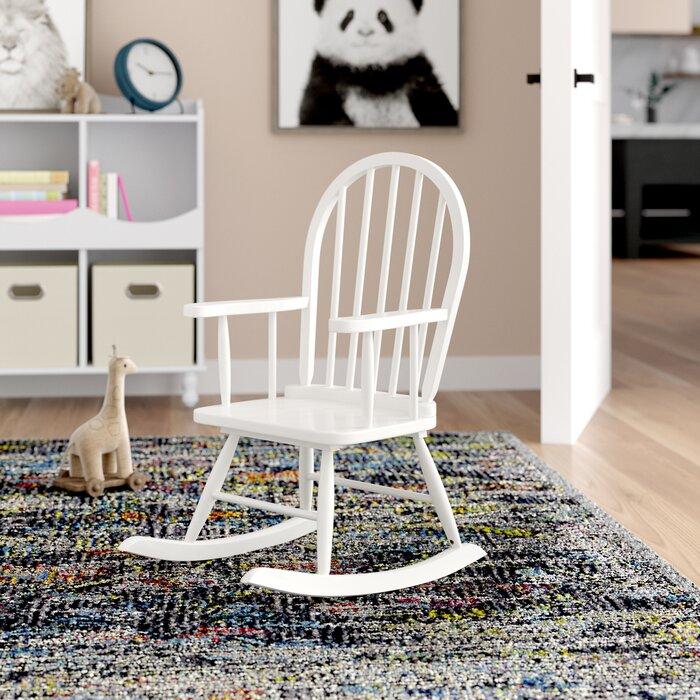 Awe Inspiring Leysin Childrens Rocking Chair Machost Co Dining Chair Design Ideas Machostcouk