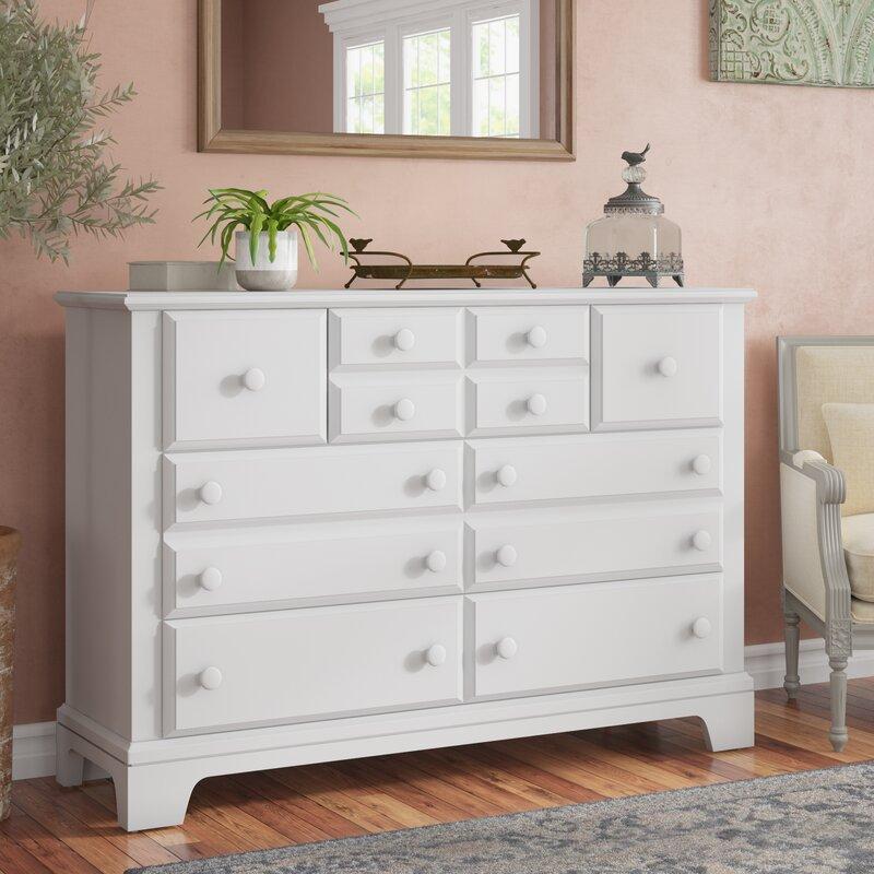 Darby Home Co Cedar Drive 7 Drawer Dresser Reviews Wayfair