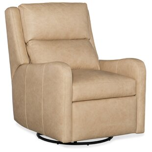 Willow Leather Power Wall Hugger Recliner with Articulating Headrest
