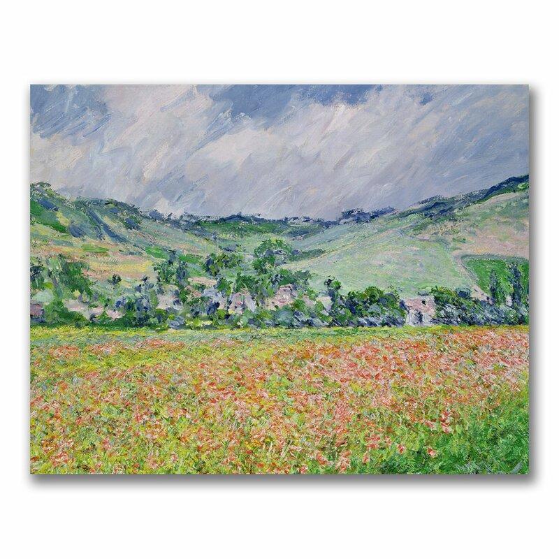Monet Poppyfield various sizes fine art giclee print poster