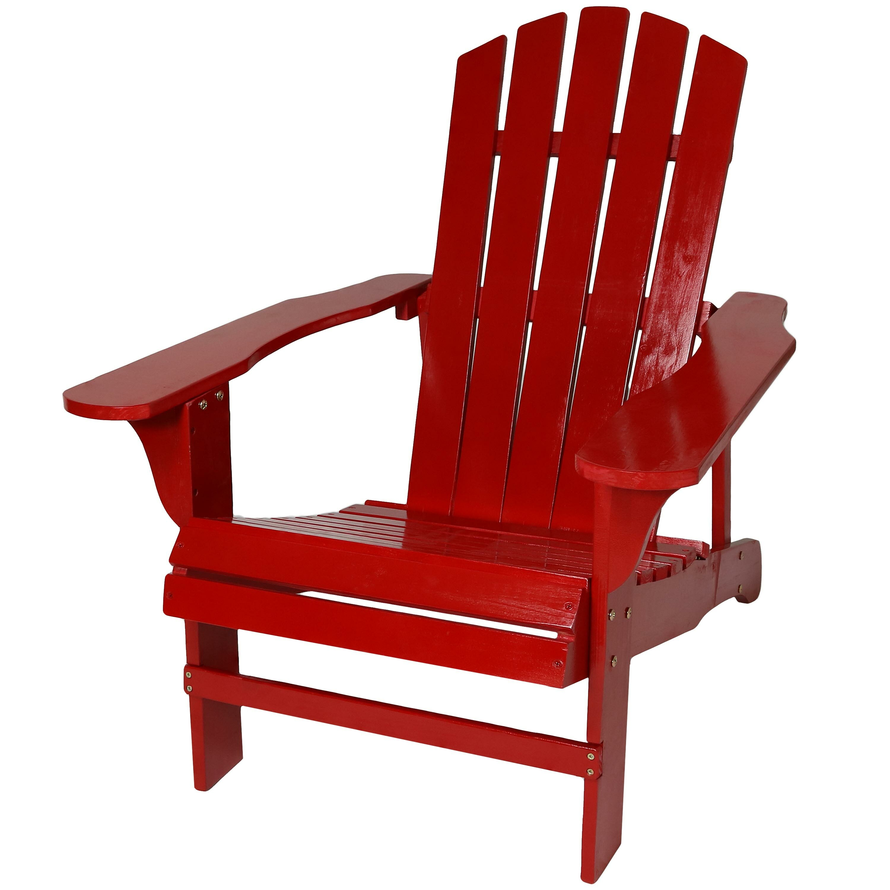 Picture of: Breakwater Bay Candlewood Solid Wood Adirondack Chair Reviews