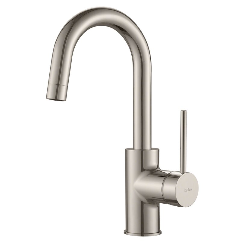 Kraus  Oletto Single Handle Bar Faucet Finish: Spot Free Stainless