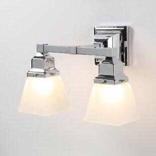 Alcott Hill Schaefferstown 2-Light Vanity Light