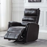 Faux Leather Manual Recliner by Red Barrel Studio®