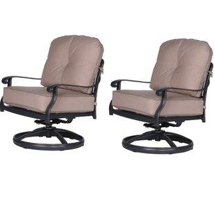 Fleur De Lis Living Bean Club Patio Chair..