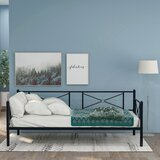 Christoval Twin Metal Daybed by Gracie Oaks