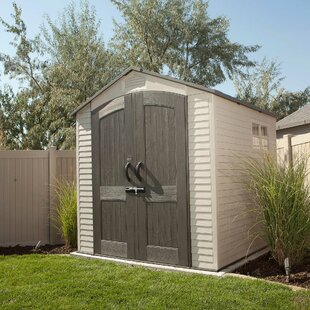 7 Ft. W X 7 Ft. D Apex Plastic Shed By Lifetime