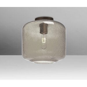 Spero Ceiling Cylinder 1-Light Semi Flush Mount