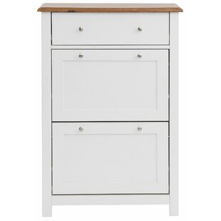 Review Eagleswood 8 Pair Shoe Storage Cabinet
