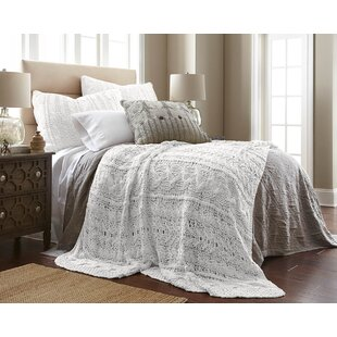 Amity Home Cable Knit Coverlet