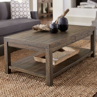 Omara Wooden Coffee Table