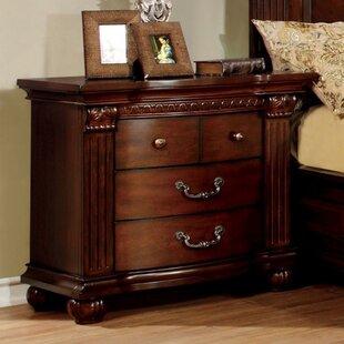 Astoria Grand Dorcas 4 Drawer Nightstand