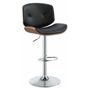 Brought Adjustable Height Bar Swivel Stool by Corrigan Studio Amazing