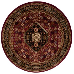 Leland Sienna Red Area Rug by Andover Mills