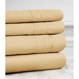 Valentino 4 Piece 1200 Thread Count Egyptian Quality Cotton Sheet Set
