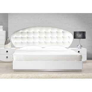 Rachna Upholstered Platform Bed by Orren Ellis Spacial Price