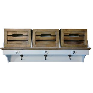 Knowles Wall Mounted Coat Rack By Beachcrest Home
