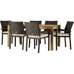 7 Piece Austin Patio Dining SetSix Person Patio Dining Sets   Joss   Main. Outdoor Dining Sets Austin. Home Design Ideas