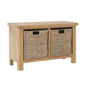 Carevelle Wood Storage Bench By August Grove