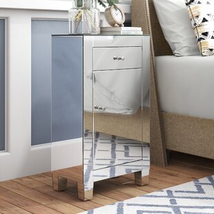 Emerita 1 Door Accent Cabinet