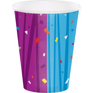 Milestone Celebrations Paper Disposable Cup (Set of 24)