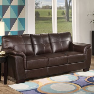 Curran Leather Sofa by Darby Home Co #2
