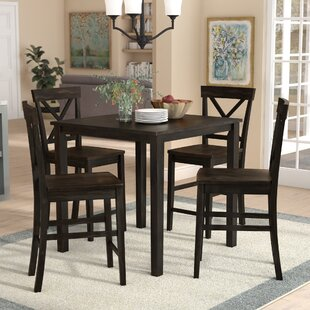 Skiatook 5 Piece Counter Height Dining Set Gracie Oaks