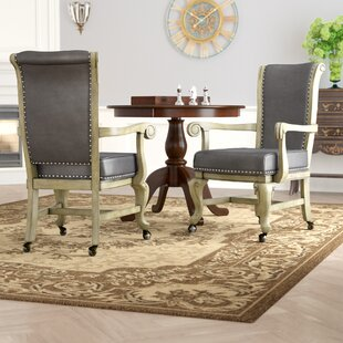 Transitional Upholstered Dining Chair (Set of 2) by Astoria Grand