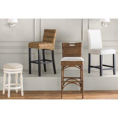 Cool August Grove Caulders 26 Swivel Bar Stool Bralicious Painted Fabric Chair Ideas Braliciousco