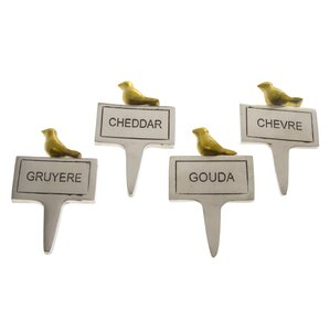 urban farm cheese marker set of 4