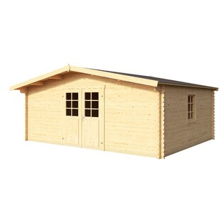 Beach 16 X 12.5 Ft. Tongue & Groove Summer House By Sol 72 Outdoor