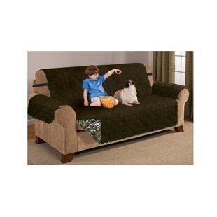 Bloomsbury Market Printed T-Cushion Sofa Slipcover