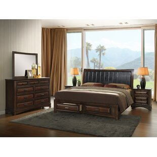 North Adams King Platform 5 Piece Bedroom Set by Charlton Home