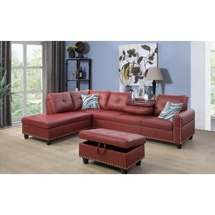 Sandefur Sectional with Ottoman