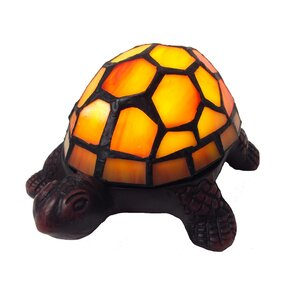 Stained Glass LED Wireless Turtle Accent 2.50