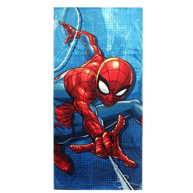 The Amazing Spiderman BeachPool Bath Towel100/% CottonCrawling
