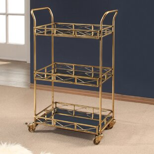 Wirksworth 3 Tier Bar Cart by Wrought Studio