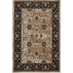 Find the perfect Bluff Canyon Beige/Black Area Rug By Charlton Home
