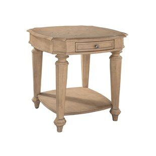 Read Reviews Haylie End Table by One Allium Way