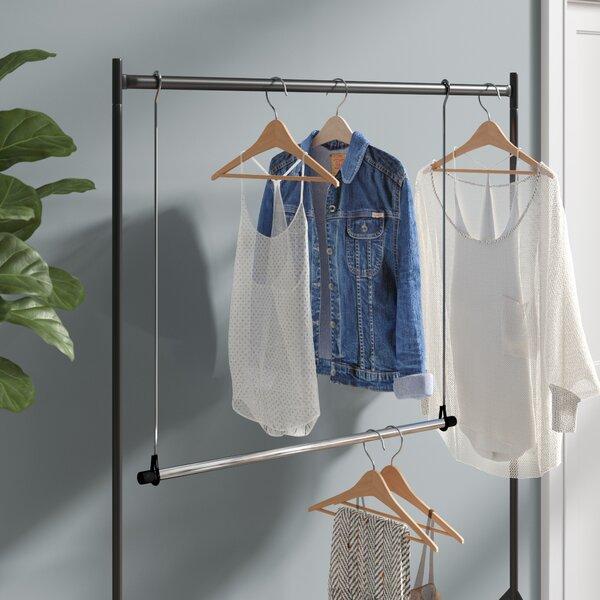 Rebrilliant Double Hang Closet Rod Hanging Organizer U0026 Reviews | Wayfair