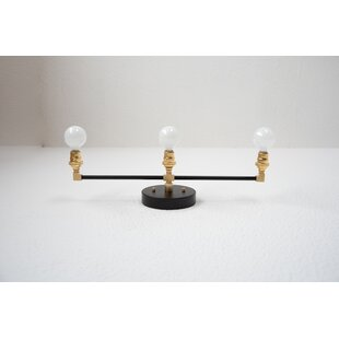 Illuminate Vintage 3-Light Vanity Light in 30.25