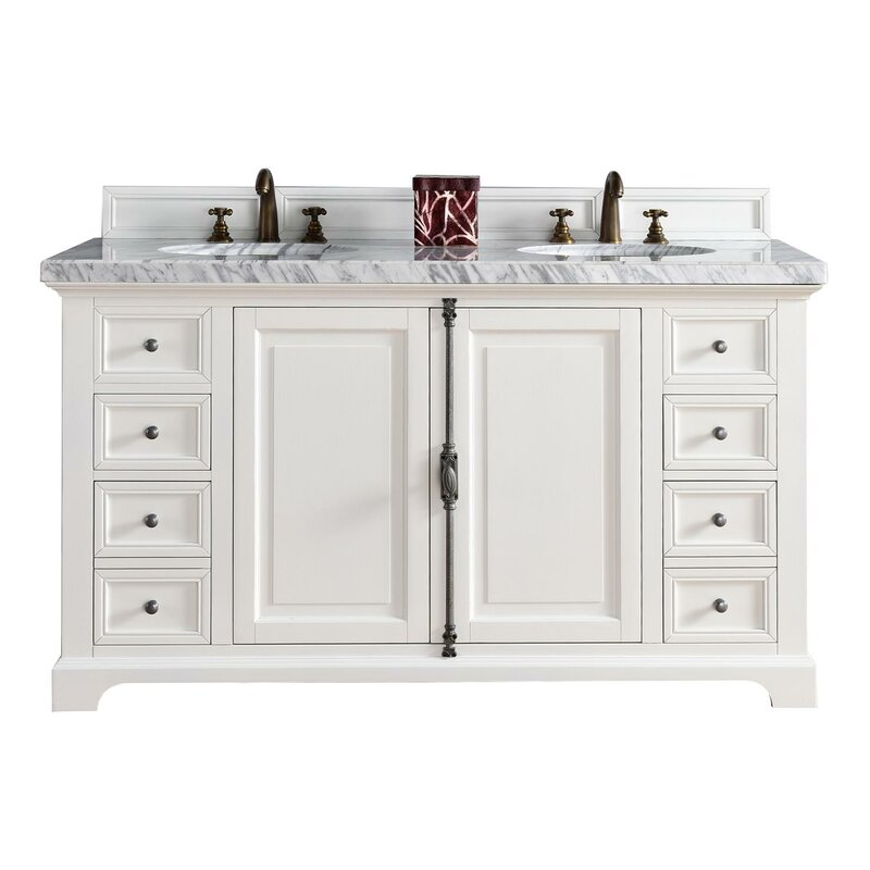 Providence 60 Double Bathroom Vanity Base Only
